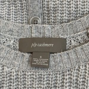 ply cashmere Sweaters - Grey Cashmere Sweater